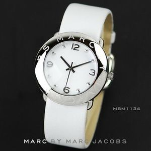 Marc Jacobs Silver Watch face